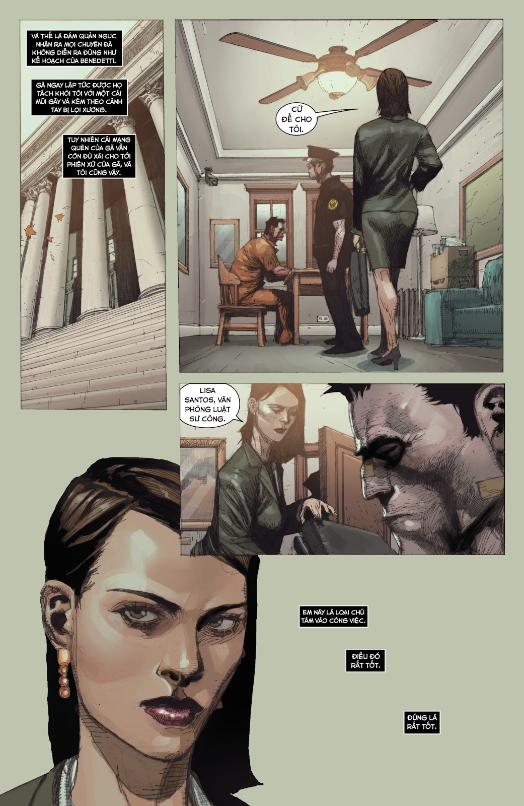 Punisher: Trial of the Punisher chap 1 - Trang 13