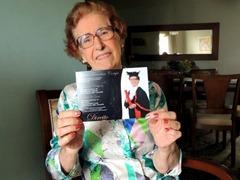 2 - Aos 86 anos, mulher se forma em direito no RS e quer ajudar idosos