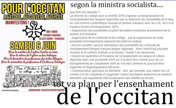 manifestacion per l'ensenhament de l'occitan