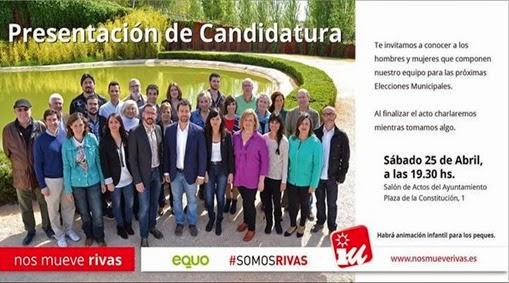 Candidatura IU Rivas 2015 c