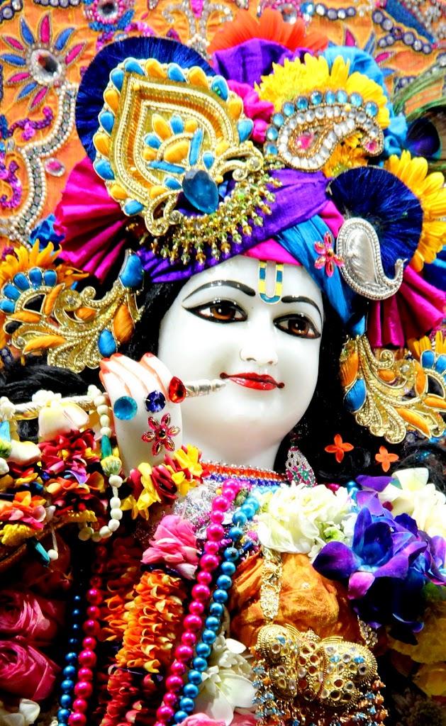 ISKCON Juhu Sringar Deity Darshan 14 Jan 2016 (11)