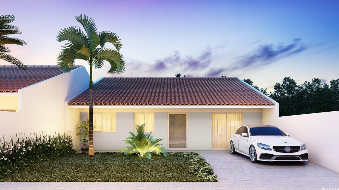 Casa com 2 dormitórios em Itapoá, 63 m² por R$ 150.000 - Excelente vizinhança