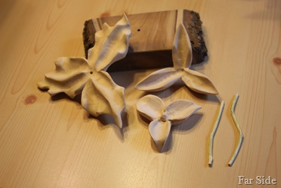 Trillium Carved