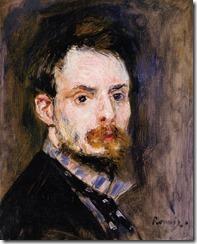 Auguste Renoir Autoportrait