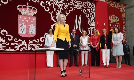 Cristina Cifuentes, nueva presidenta de la Comunidad de Madrid