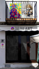 Take Awat Contemporany Art, en Peñíscola