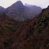Greens, Reds, and Grays of the Madeira Hillsides - Funchal, Madeira