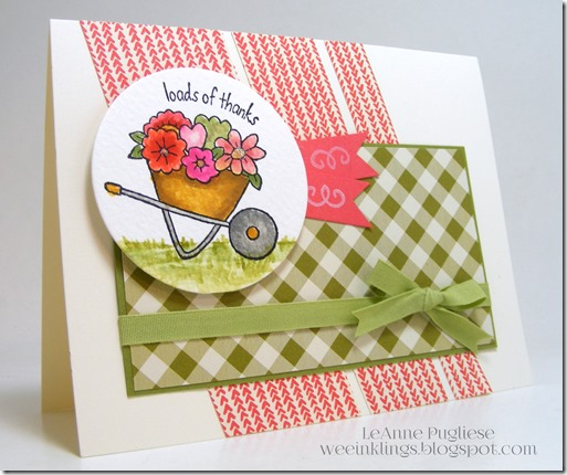LeAnne Pugliese WeeInklings You're Sublime Stampin Up