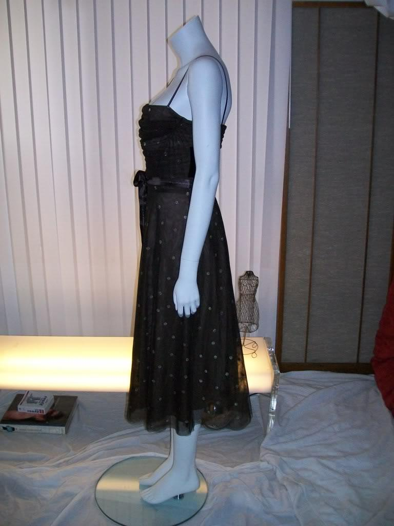 BCBG MaxAzria Tulle Strapless Dress NEW W Tags Sz M   eBay