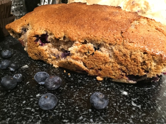 blueberry and nut loaf