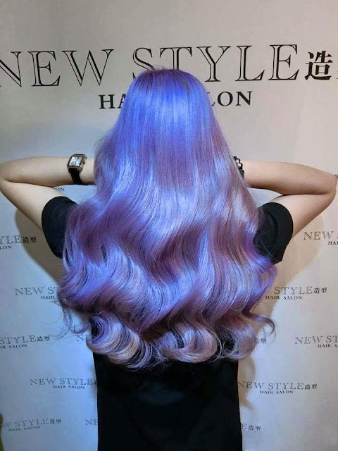 Pastel Hair Dye_ Purple Hair