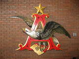 The Anheuser-Busch eagle at the Anheuser-Busch Brewery in St Louis 03192011