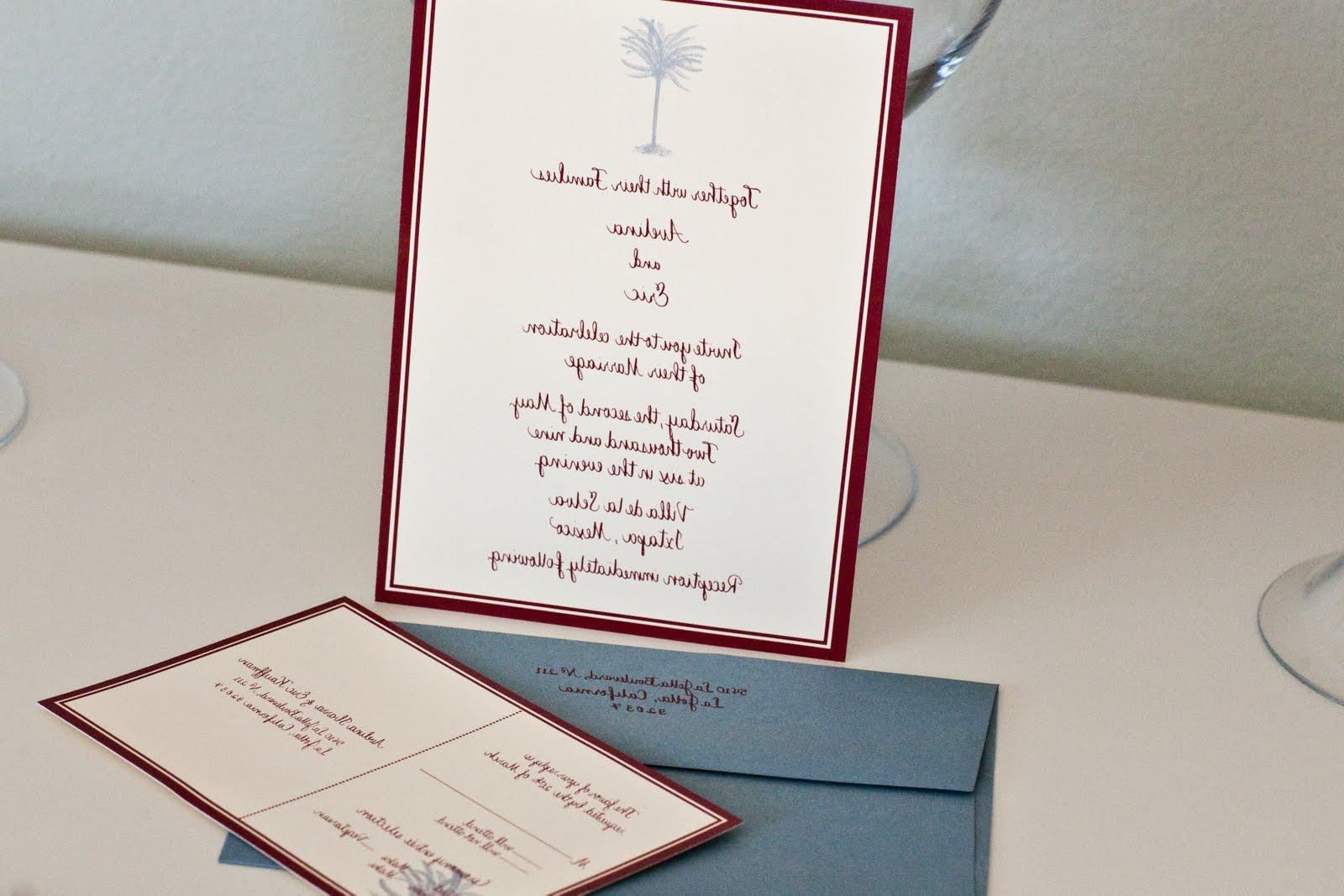 This destination wedding set