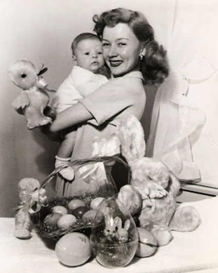 Gloria Grahame with son Timothy Ray
