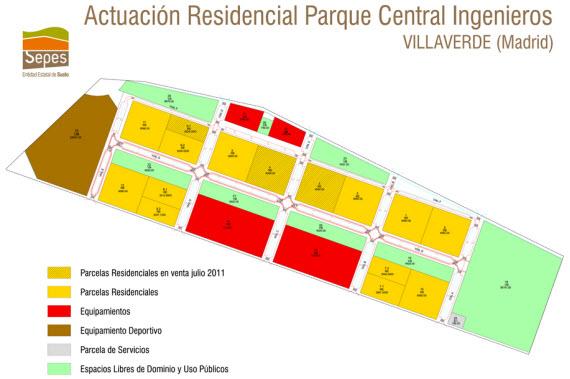 Presentado el proyecto residencial 'Parque de los Ingenieros' de Villaverde