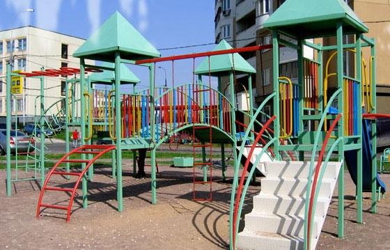 Детские площадки из металла своими руками фото схемы