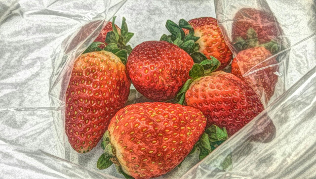 Random picture of strawberries for commercial use.