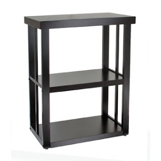 Image of metal aquarium stand