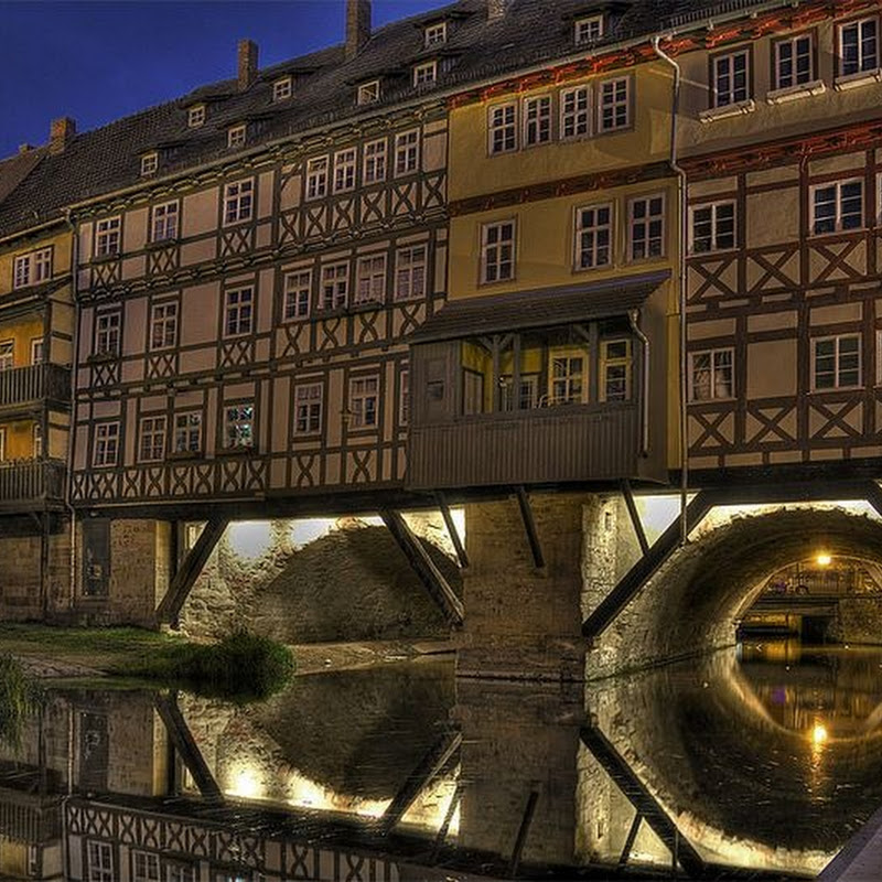 Kramerbrucke: The Inhabited Bridge of Erfurt