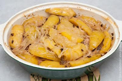 тушеная картошка с пряностями