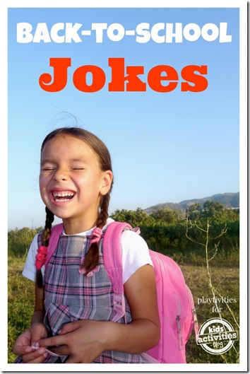 FREE back to school jokes - these would be so cute to write and stick in your kids lunch box on the first day of school!