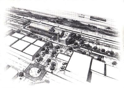 Kelso Depot Rendering