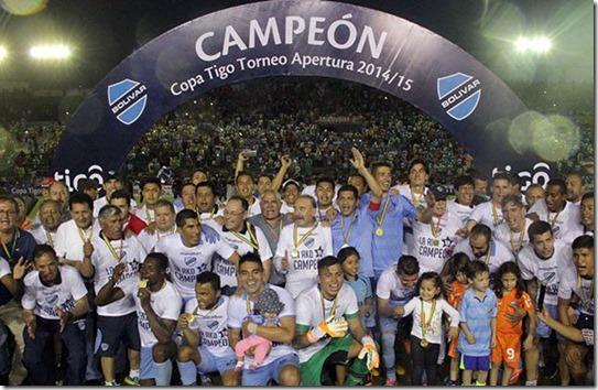 Bolivar-campeon