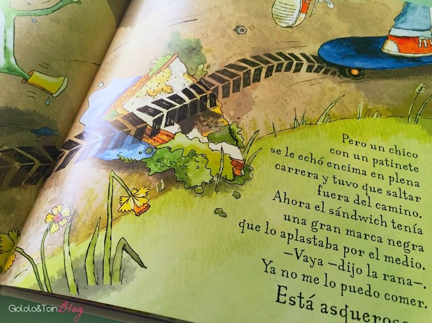 que-asco-de-sandwich-literatura-infantil-cuento-humor-niños-album-ilustrado