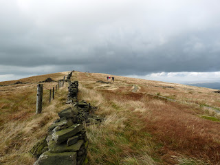THe flagged path from Cats Tor