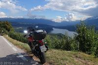 Nördlich des Lago di Santa Giustina.