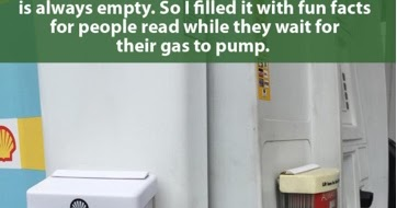 Photos of Hilarious Fun Facts Posted Online Goes Viral