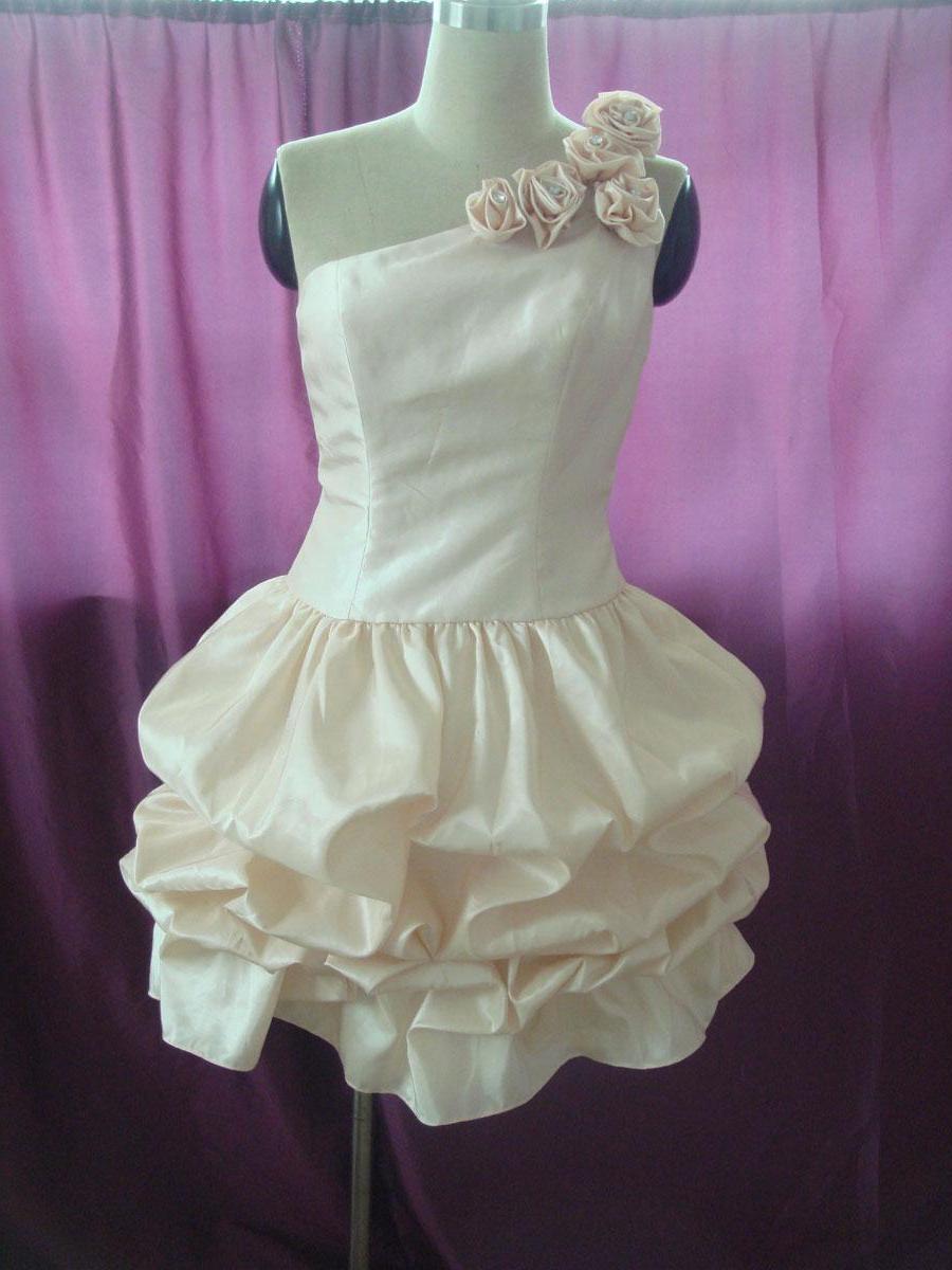 Taffeta Short Prom Dress