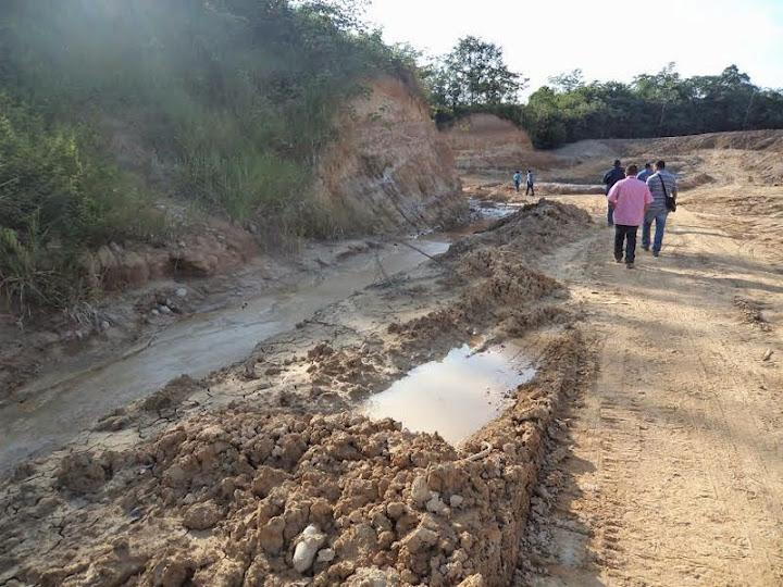 La USO denuncia los daños al medio ambiente en La Cira-Infantas