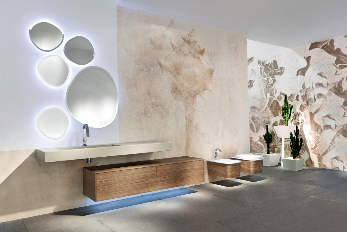 Arredo bagno mobili e mobiletti per bagni for Mobili legno design