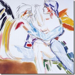 Kitaj_-Los-Angeles-No.-22-_Painting-Drawing_-2001_-oil-on-canvas_-NON-43913