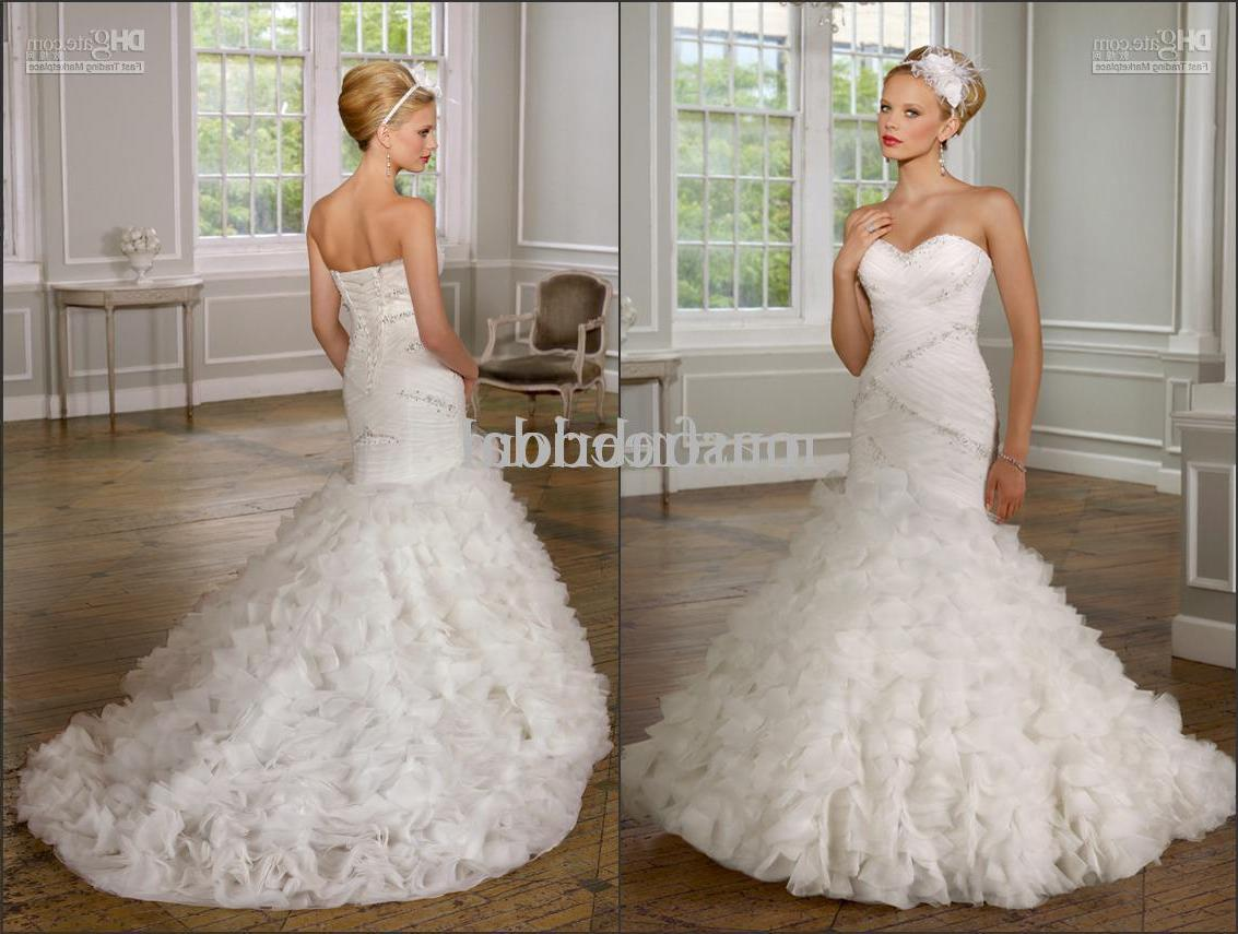 Wholesale - 2011 New White Organza Informal Wedding Dress Bridal Gowns