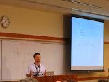 "@BlueDogWeb presenting ""Integration of WordPress with External APIs"" at WordCamp San Diego"