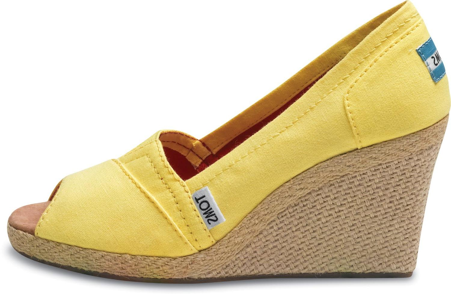 TOMS wedges for your wedding!