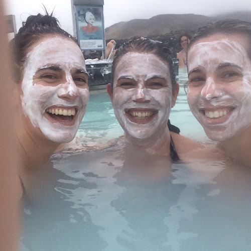 Blue Lagoon, Iceland- face masks