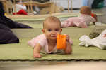 LePort Private School Irvine - Happy tummy time baby at Irvine childcare