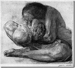 kollwitz_mujer_nino_muerto_1903