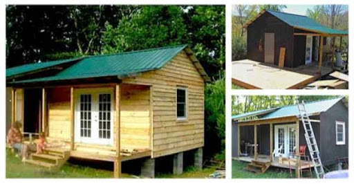 How to Build a Mortgage-free Small House for $5,900