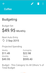 Speed Budget - Expense Tracker- screenshot thumbnail
