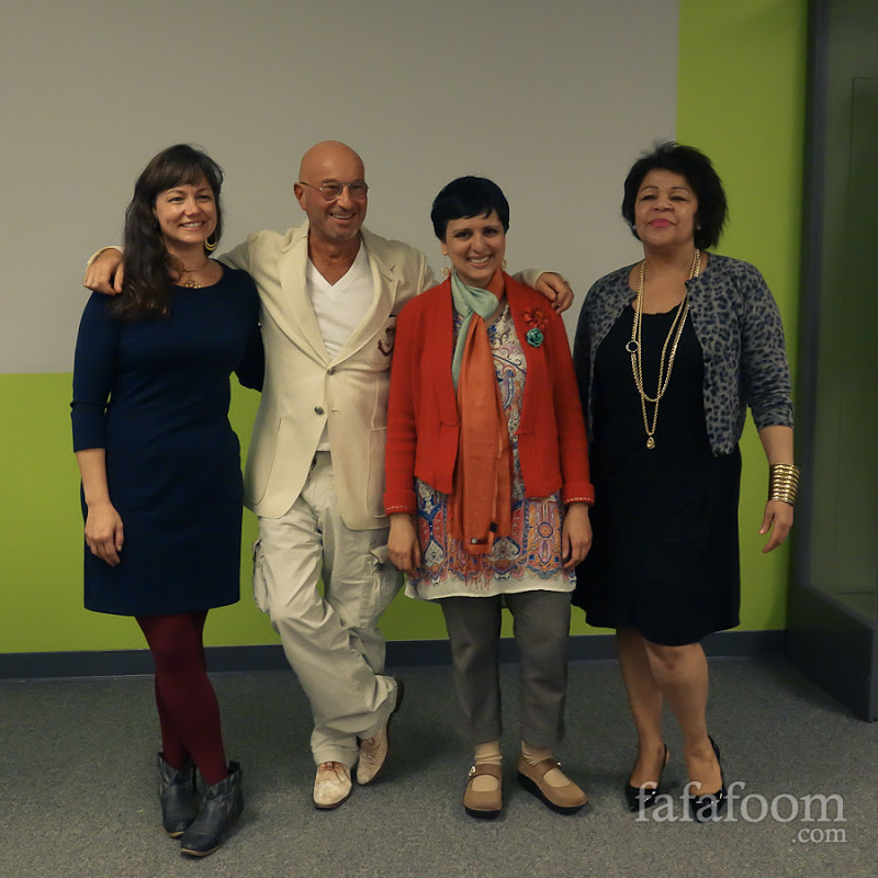 Liz Rossof, Michael Roson, Geetika Gupta, and Gwendolyn Wright