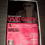 david guetta at circa nightclub in toronto in Toronto, Ontario, Canada