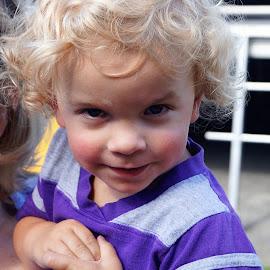 curlylocks by Bar Ivy - Babies & Children Babies ( grandchild, blonde, baby, cute, boy )