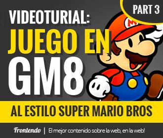 Juego en GM8 al estilo Super Mario Bros