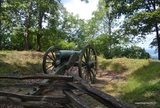 Confederate Cannons on Kennesaw Mountain