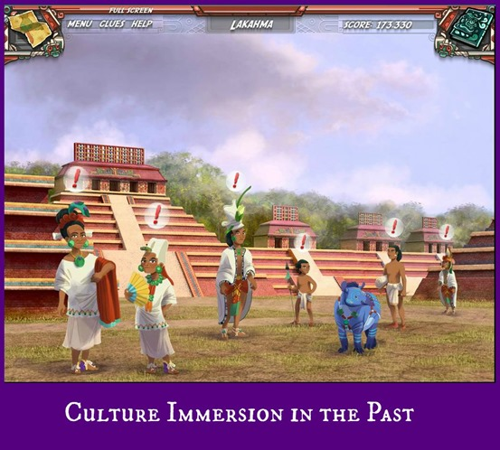 Working a Site in the Past (this is the ancient Palenque ~ Mayan Mysteries game reivew at Cicling Through This Life