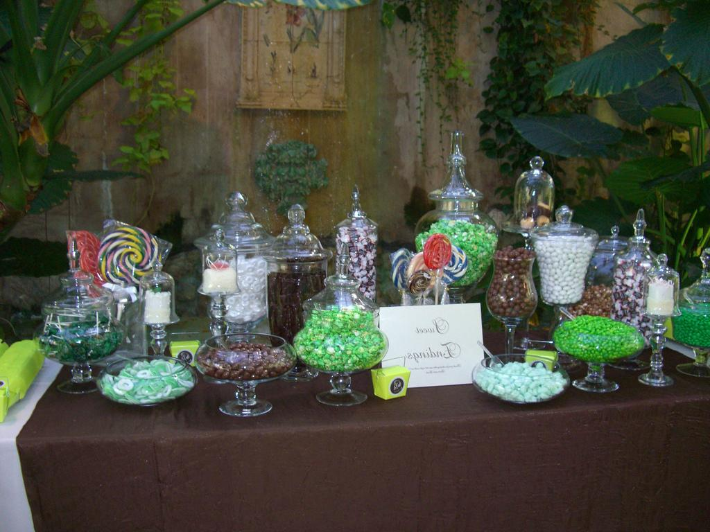 and Brown Candy Buffet